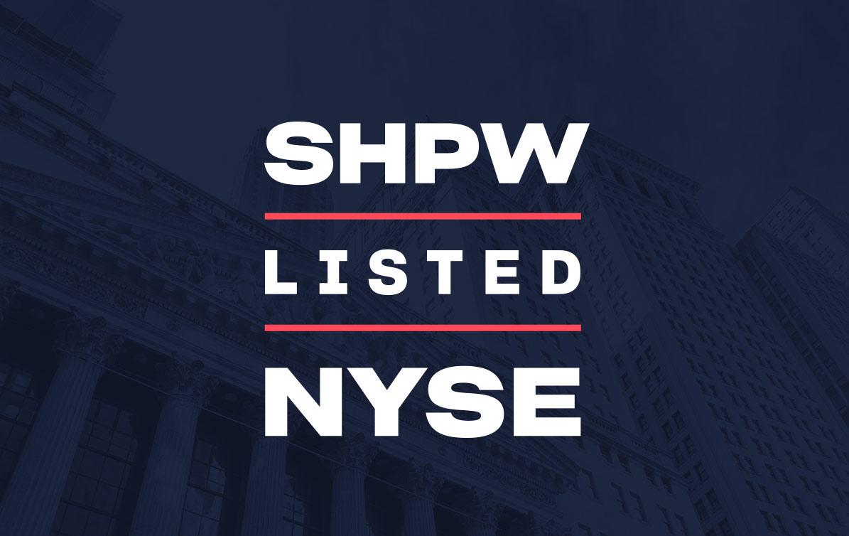 Shapeways lists on the NYSE under the ticker symbol SHPW